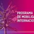 Aberto o edital do Programa de Mobilidade Acadêmica Internacional