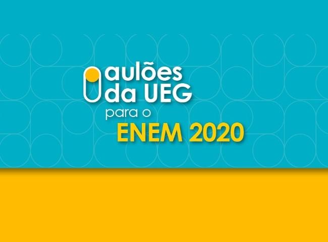 UEG realiza aulões preparatórios online para Enem