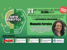UEG Posse e Institutos Federais promovem palestra sobre Data Analytics